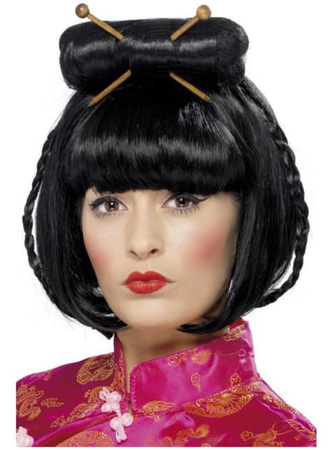 Peruca dama oriental