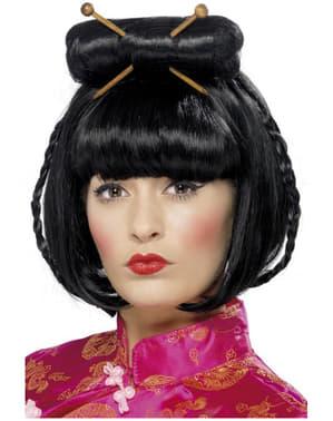 Peluca dama oriental