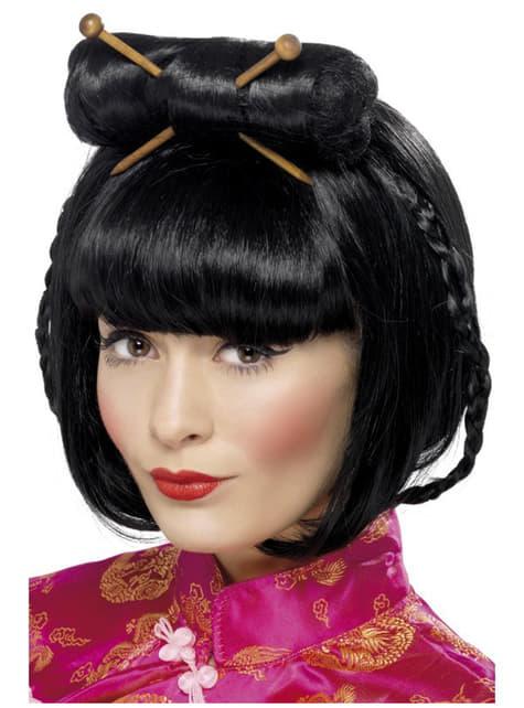 Orientalsk dame paryk