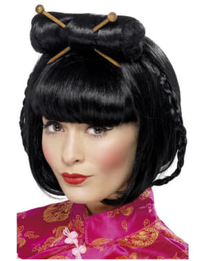 Parrucca donna orientale