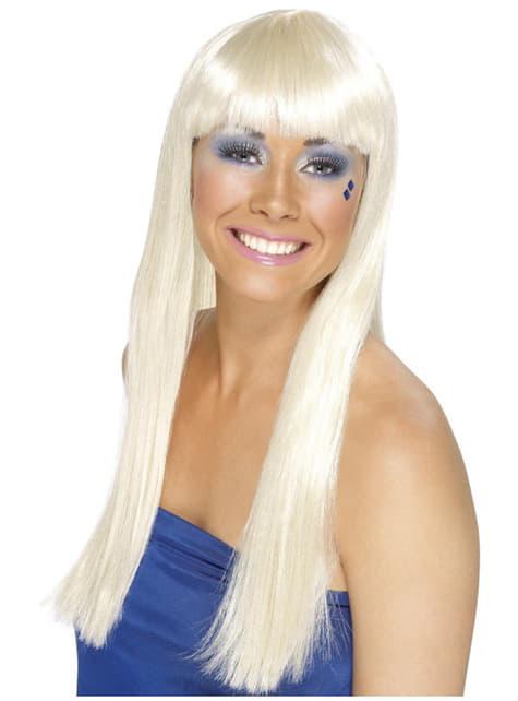 Parrucca regina del ballo