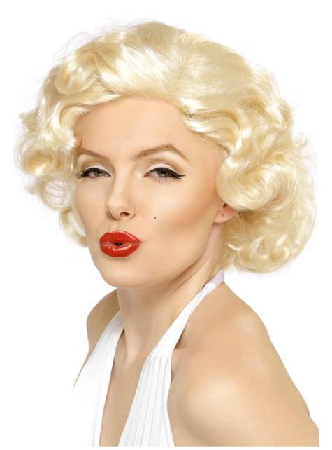 Parrucca Marilyn Monroe deluxe