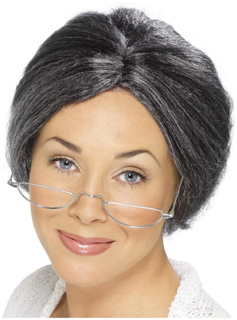 Granny Bun περούκα
