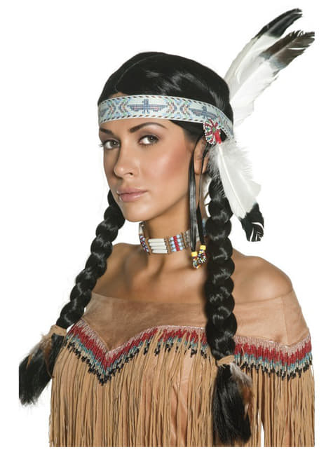 Peruca índio nativo