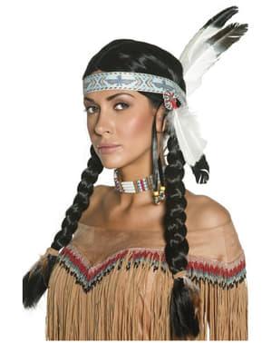 Perruque d'indigène