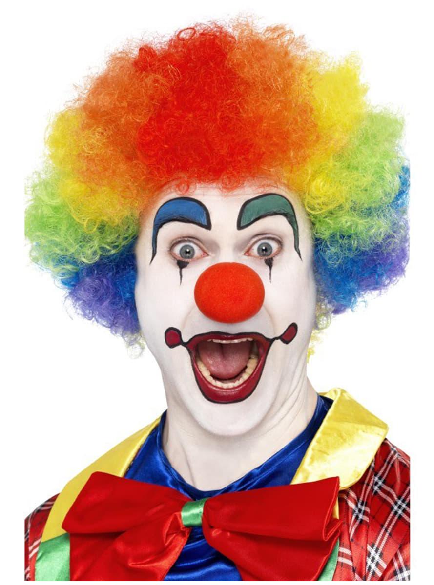 Peruka szalony klaun t czowa przesy ka ekspresowa funidelia - Clown schminken bilder ...
