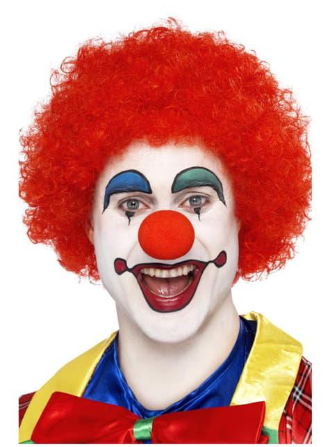 Crazy Clown אדום פאה