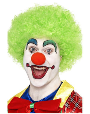 Crazy Clown Green Wig