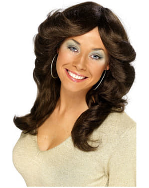 70s Movie Brown Wig