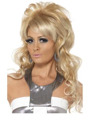 Perruque de reine de beauté