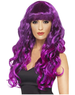 Purple Mermaid Wig