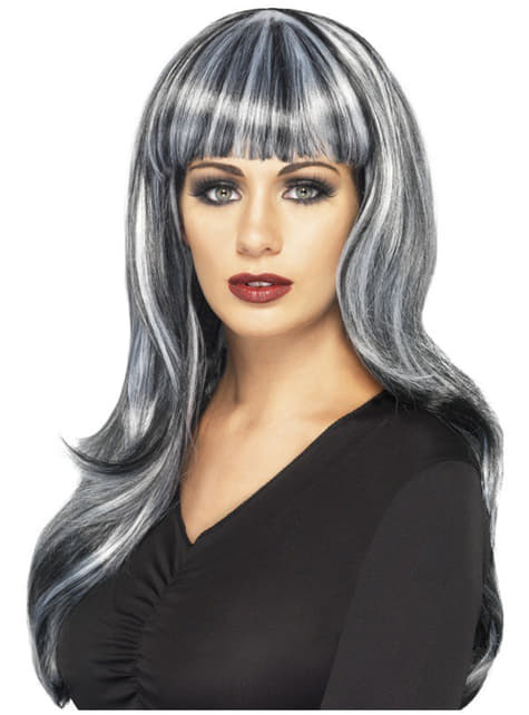 Farbowana peruka dla kobiet