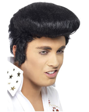 Deluxe Elvis Pruik met Kuif