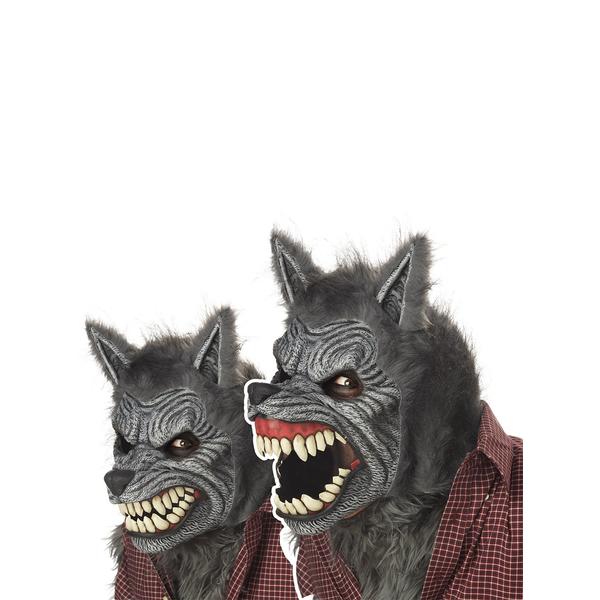 mascara-hombre-lobo-animada- ...