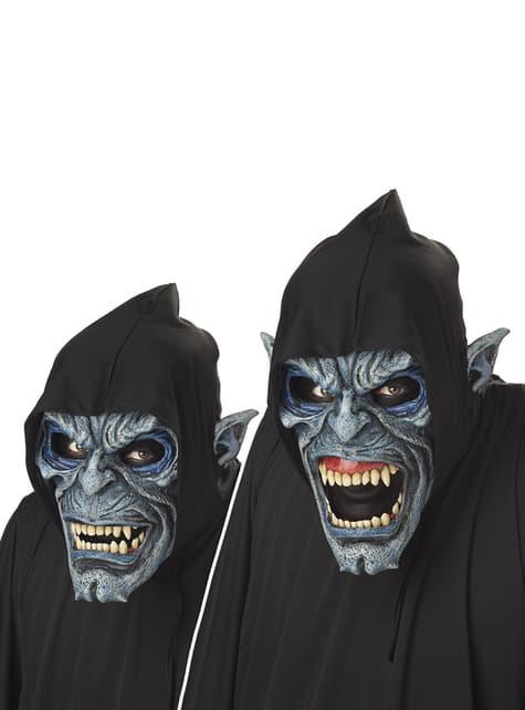 Maschera delinquente notturno animata deluxe