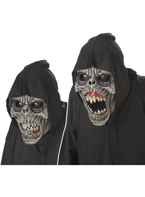 Máscara demónio noturno animada deluxe