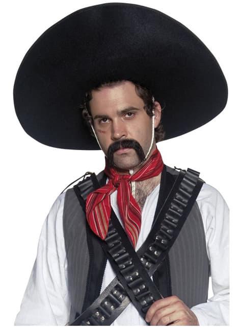 Автентична мексиканска шапка на бандит