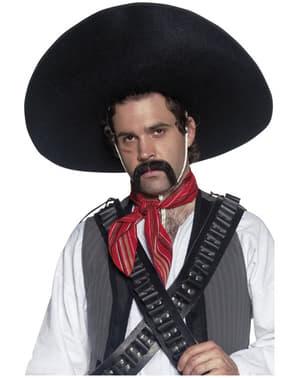 Chapéu de autêntico bandido mexicano