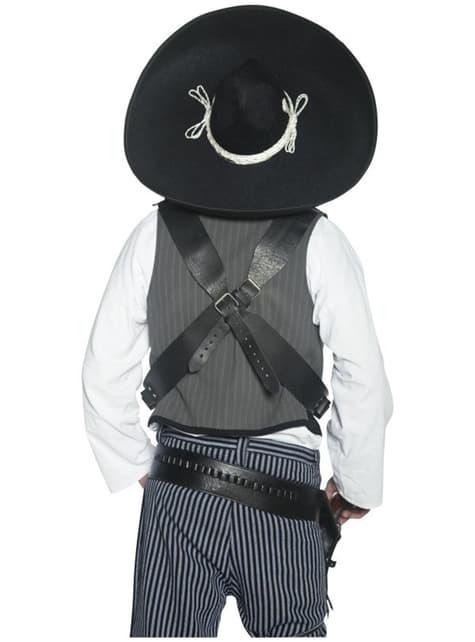 Autentický mexický banditový klobúk