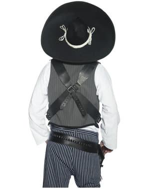 Pălărie de bandit autentic mexican