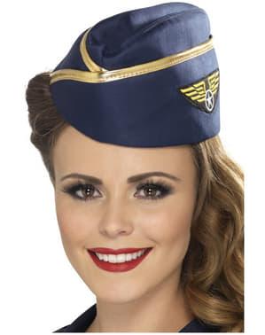 Chapéu de Hospedeira Aérea