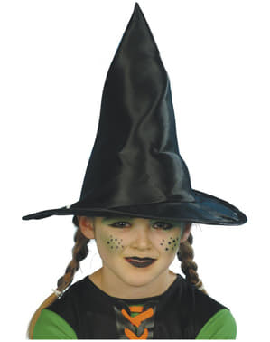 Chapéu de bruxa infantil