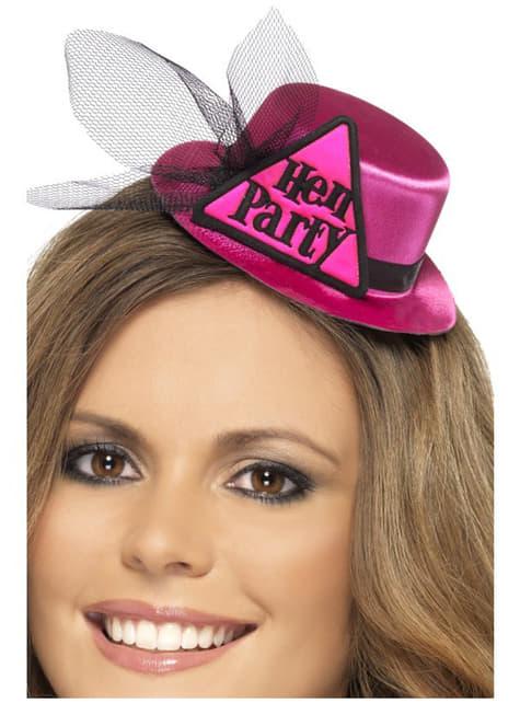 Sombrero de despedida de soltera