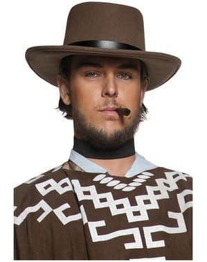Chapéu de pistoleiro errante do Oeste