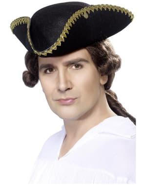 Pălărie tricorn Dick Turpin