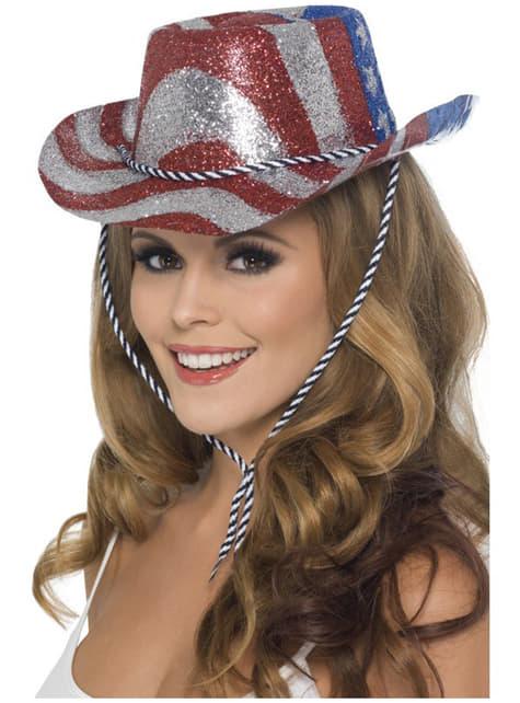 Amerikaanse Cowboy hoed voor volwassenen