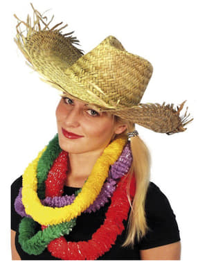 Chapéu havaiano de palha