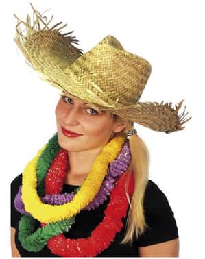 Hawaiianischer Stroh Hut