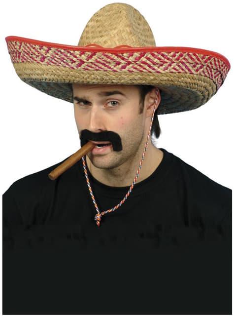 Kapelusz meksykański słomiany