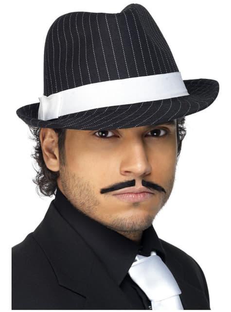 Chapeau de gangster de luxe