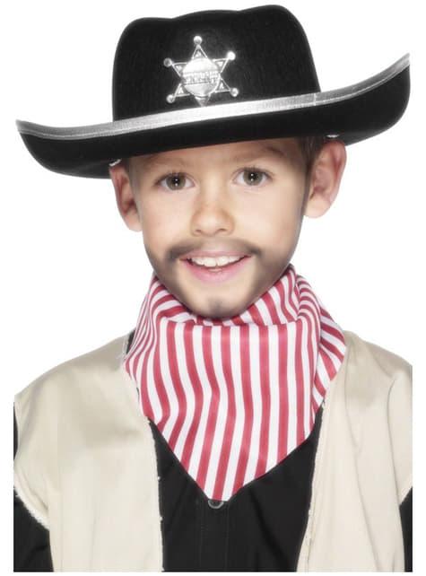 Kapelusz szeryfa dla dzieci