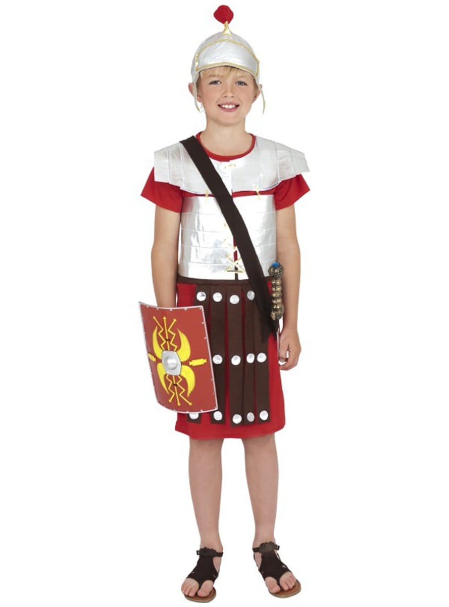 boy s roman soldier costume fast delivery funidelia