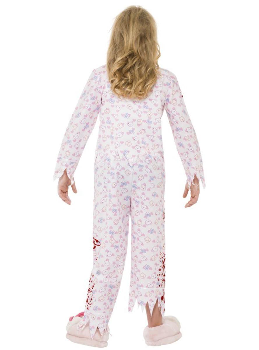 Disfraz Chica Zombie En Pijama Para Ni 241 A Have Fun