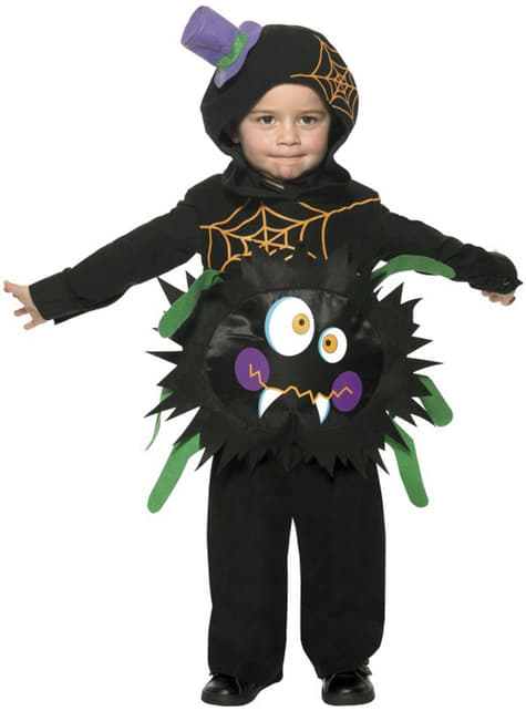 Baby's Crazy Spider Costume
