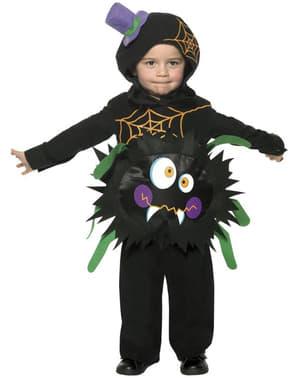 Fato de aranha louca infantil