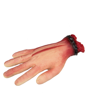 Amputated hand (21 cm)