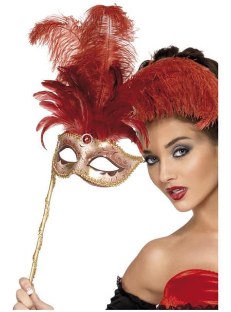 Golden Venetian Eye Mask for Women