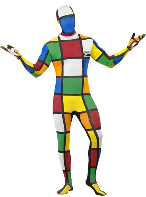 Disfraz de Cubo de Rubik segunda piel