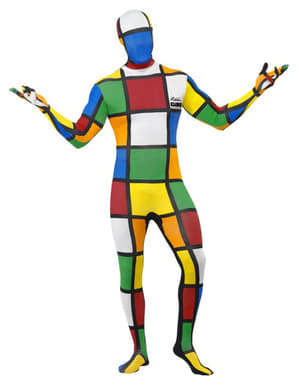 Fato de Cubo Mágico segunda pele