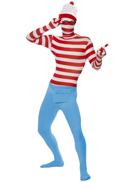 Disfraz de Dónde está Wally segunda piel