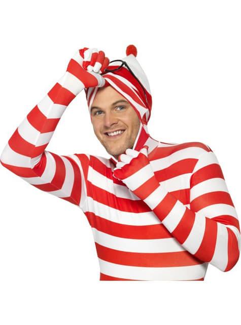 Disfraz de Dónde está Wally segunda piel - original