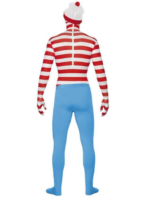 Disfraz de Dónde está Wally segunda piel - traje