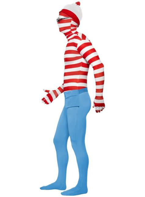 Disfraz de Dónde está Wally segunda piel - Halloween
