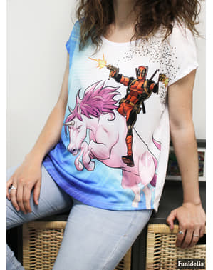 Deadpool Unicorn T-Shirt לנשים