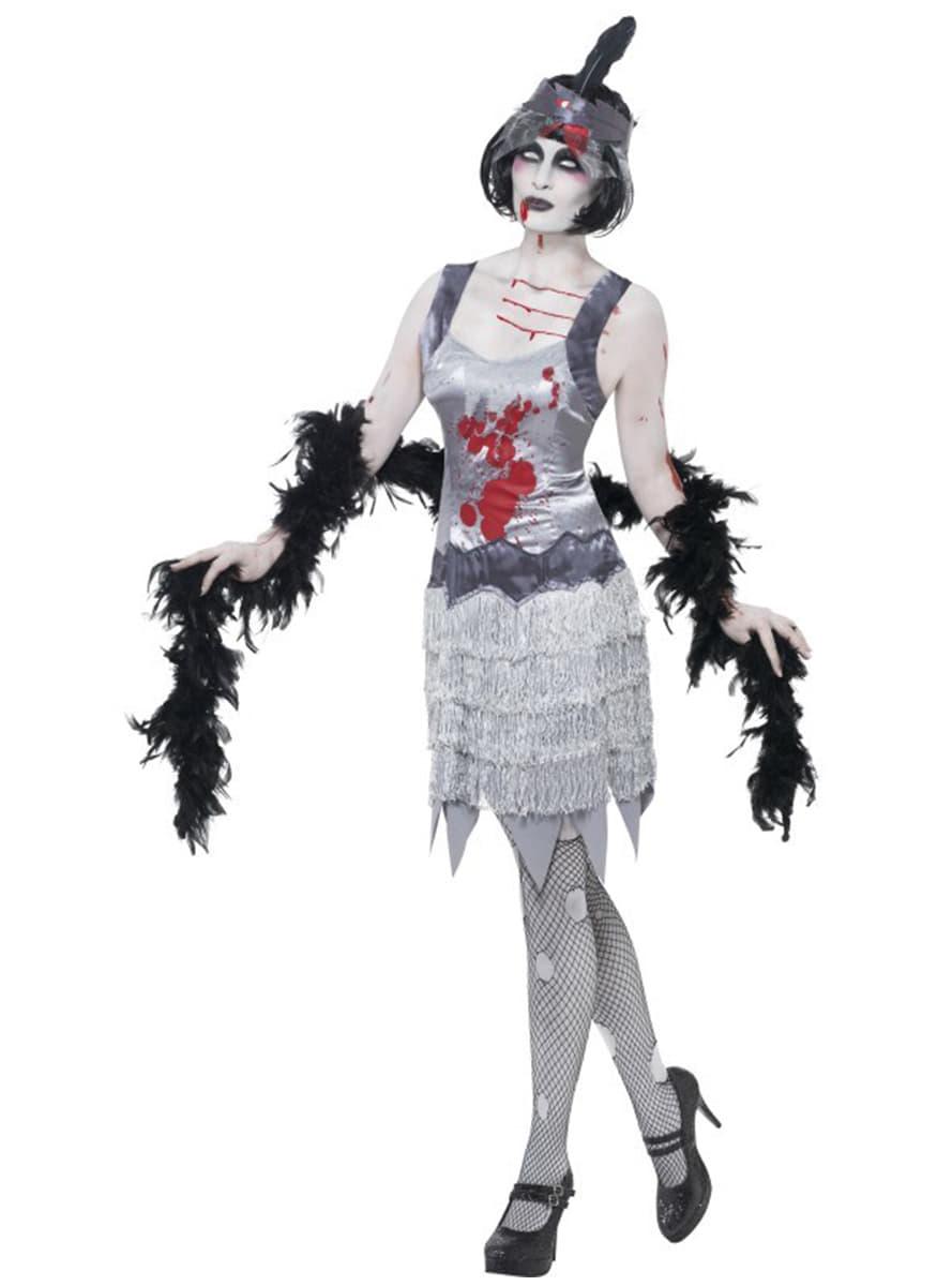D guisement de charleston zombie pour femme acheter en ligne sur funidelia - Deguisement zombie femme ...