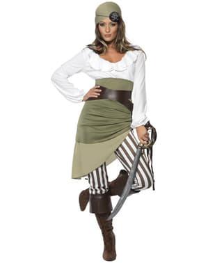 Disfraz de pirata aventurera para mujer